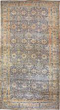 Antique Persian Kirman Rug ( size adjusted) BB0631