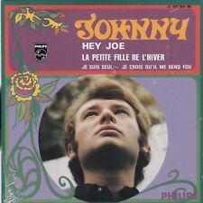 CD EP JOHNNY HALLYDAY  HEY JOE ** LA PETITE FILLE DE L'HIVER