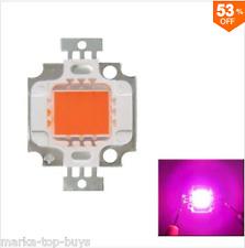 FULL SPECTRUM 10w Rosa LED Plant Grow Light Lamp Chip for garden 9-12v