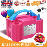 Hausen High Power Mains Electric Balloon Inflator Air Pump Blower Ideal For Parties