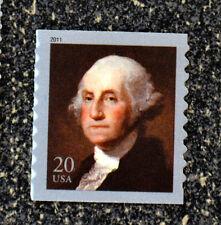 2011USA  #4512  20c George Washington Coil Single by Gilbert Stewart  Mint NH