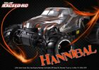 1/5th Exceed RC Hannibal 30cc Gas Off-Road Monster Truck 2.4Ghz RTR Orange NEW