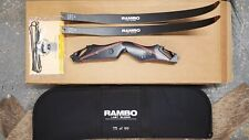 RAMBO: LAST BLOOD LIMITED EDITION TAKEDOWN TRADITIONAL BOW, RH,45 Lb.175 of 199!