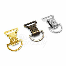 Solid Bag Clasps Lobster Swivel Trigger Clips and D ring for 30 mm webbing AVU