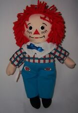 "Raggedy Andy Embroidery Eyes 12"" New with ApplauseTag"