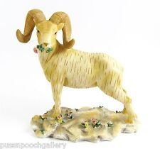 """Goat"" Figurine - Wildflower Animals Demdaco 2001 One Only  Discontinued"