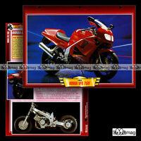 #111.12 Fiche Moto HONDA VFR 750 F 1994-98 Sport Bike Motorcycle Card