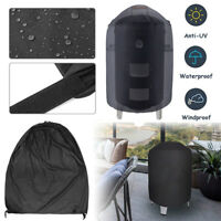 Black Barbecook BBQ Smoker Cover Size XL 83 x Ø60cm Waterproof Protective Sheet