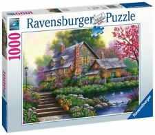 Ravensburger - Romantic Cottage Puzzle 1000 Pieces (RB15184-4)