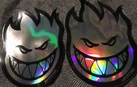 "2 Spitfire Wheels Bighead Prism Sticker 6"" Anti Hero Thrasher Krooked Palace Fa"