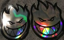 "2 Spitfire Wheels Bighead Prism Sticker 6"" Anti Hero Thrasher Krooked Palace Fa"