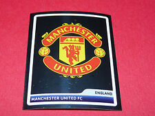 N°56 BADGE MANCHESTER UNITED UEFA PANINI FOOTBALL CHAMPIONS LEAGUE 2006 2007
