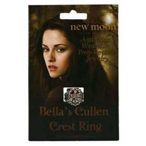 Highly Collectable The Twilight Saga New Moon Prop Replica Bella's Crest Ring