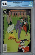 CGC 9.8 BATMAN ADVENTURES #28 EARLY HARLEY QUINN JOKER COVER 1995 WHITE PAGES