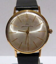 "VINTAGE RARE CLASSIC MEN'S GOLD PLATED USSR RUSSIA WATCH ""LUCH"" 23J.(VIMPEL)#898"