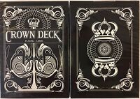 Crown Deck Black Playing Cards Poker Size USPCC Limited Edition New Sealed