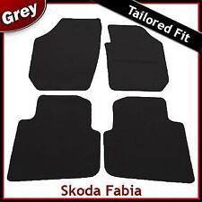 Skoda Fabia Tailored Fitted Carpet Car Mats GREY (2000 2001 ... 2005 2006 2007)