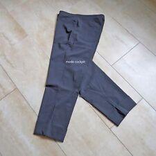 VERSION super Stretch Hose bi-elastisch 7/8 Länge mit Umschlag graphit 50-52