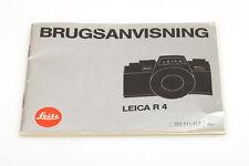 "Leica R4 Bedienungsanleitung ""Brugsanvisning"""
