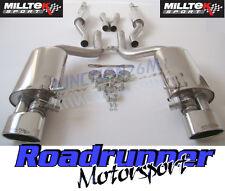 Milltek Audi RS4 B7 Exhaust Cat Back Resonated Inc Valves Polished TUV SSXAU061
