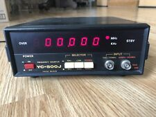 Yaesu YC-500J Frequency Counter For Ham Radio
