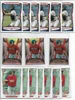 2010-2014 Blake Swihart (23) Card Rookie Lot Topps Team USA Bowman Draft Inserts
