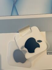 More details for genuine collectors blue apple logo stickers x 2 from 2021 imac