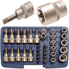 BGS 5021 T-profil Bit-und Steckschlüsselsatz 10 3/8 34-tlg