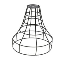 Iron Wire Cage Hanging Lamp Shade Pendant Light Lamps Cover Fixture #3