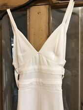 Brand New Boohoo Cream Crepe Wide Leg Culottes Playsuit UK 12 Christmas Party
