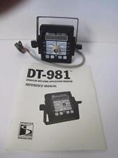 Dt-981 Granular Anti-Icing Application Monitor Sprayer W/ Mount Manual Mikrotrak