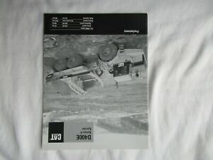 1999 CAT Caterpillar D400E  series II  ejector truck brochure