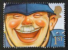 """""""il poliziotto RIDERE"""" illustrati sul 1991 timbro-Unmounted MINT"""