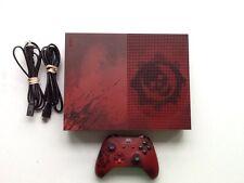 Xbox One S Gears of War Editon Used Tested & Working 2TB HD