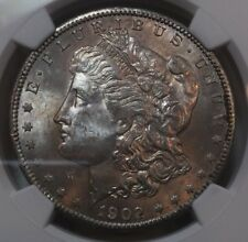 1902-O NGC MS64 S$1 Morgan Silver Dollar Lustrous Beauty