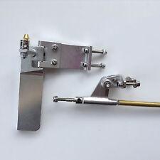 """75 mm Gouvernail, jambe de force 3.18 mm 1/8"""" Arbre Set pour NITRO électrique Pour RC Bateau #1452"""