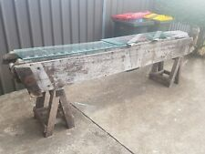 Antique Potato Conveyor Hall Table For Museum