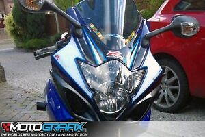 Suzuki GSXR 1000 K5 K6 Number Board Numberboard Motografix 3D Gel Protector