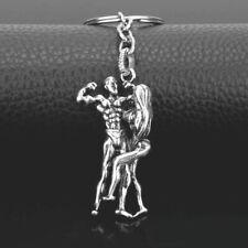 couple men women souvenir gift tag Metal Fashion sporty gym fitness key ring