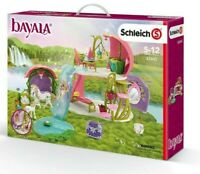 Schleich Bayala Glittering Flower House With Unicorns Lake And Stable 5-12 Ages