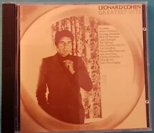 GREATEST HITS - LEONARD COHEN (CD) Ref 2061