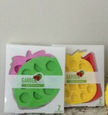 Garden Party Novelty Ice Molds 2 New