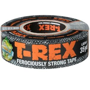 "T-REX Super-Tough, Premium Cloth Black Tape (1.88"" x 35yd)"