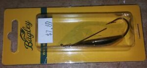Bagley Bait - Weedless Spoon - Gold - 2 inch - 3/8 oz. NIP