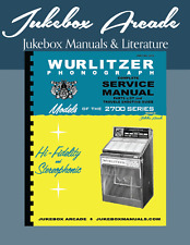 Wurlitzer 2700 Service, Parts & Troubleshooting Manual from Jukebox Arcade