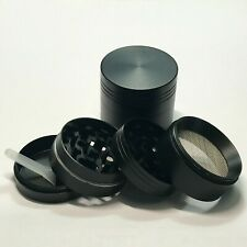 1.5 Inches 4 Piece Metal Small Herbal Herb Spice Tobacco Grinder Crusher