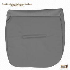 2002 2003 2004 Ford F250 F350 F450 F-550 XL Driver Bottom Seat Cover Vinyl Gray