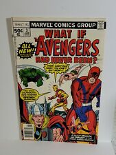 New listing What If #3 Marvel Comics June 1977 High Grade Vf/Nm Hulk Iron Man Thor Aquaman