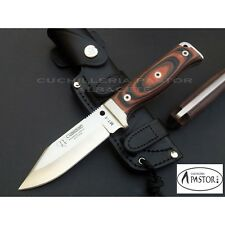 Cuchillo Supervivencia CUDEMAN MT1 micarta bicolor  - CUDEMAN MT1  knife