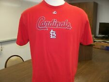 St Louis Cardinals MLB Adult XL Majestic USED Game Day Tee Shirt